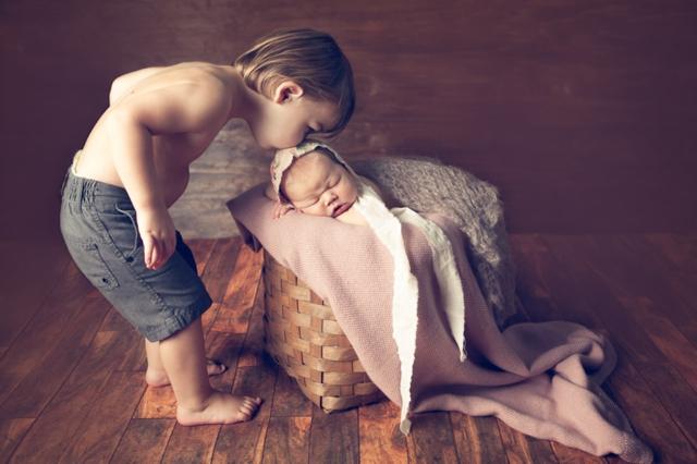 Jsi and Kinsey baby