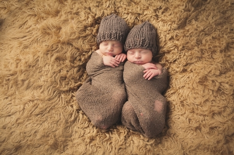 newborn twin photographers in fort worth