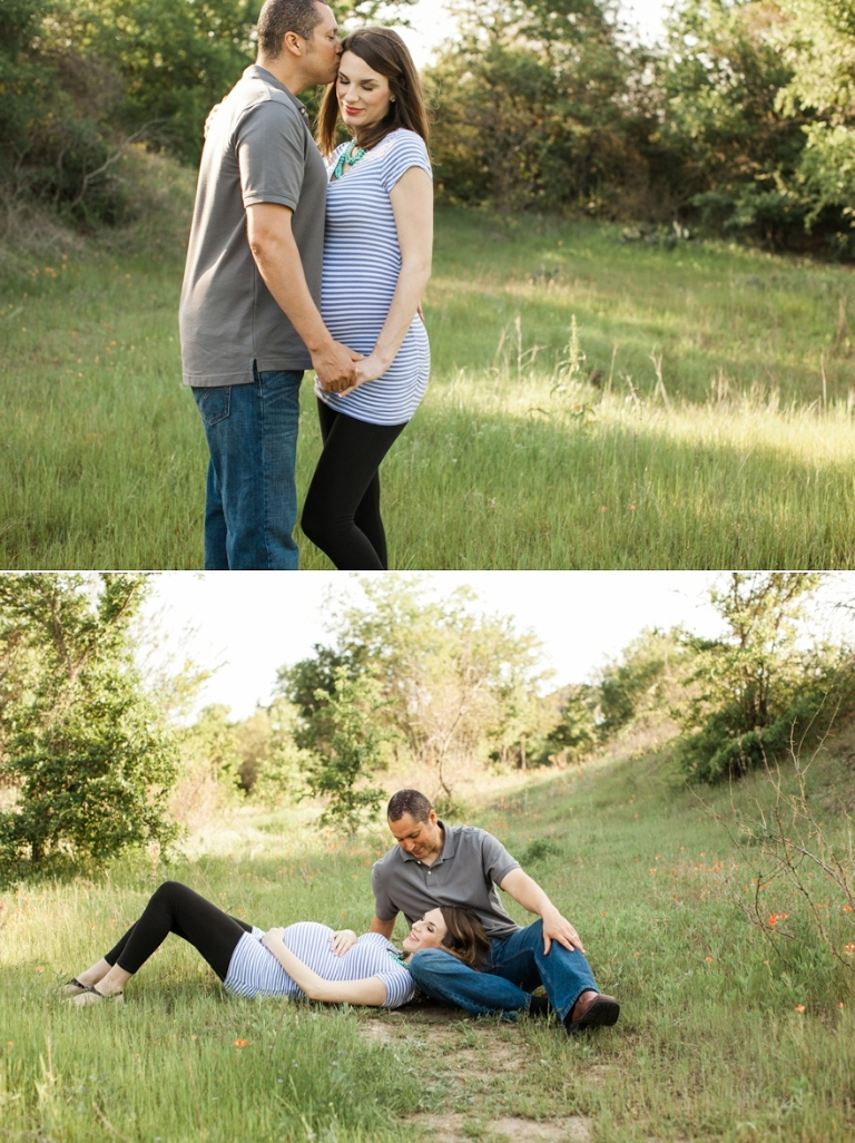 maternity session with twins