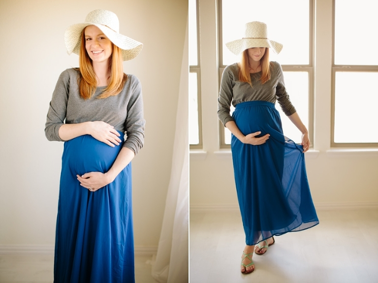 dallas fort worth outdoor maternity photography
