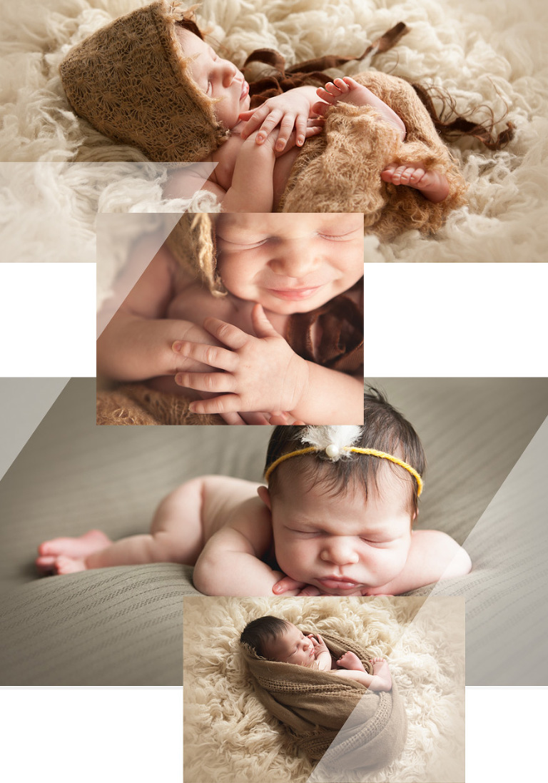 natural light newborn photography in southlake