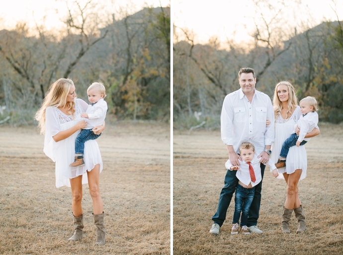outdoor family portraits in dallas fort worth tx