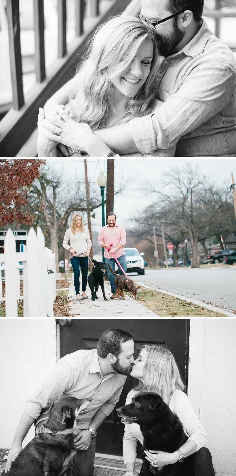 engagement portraits in grapevine