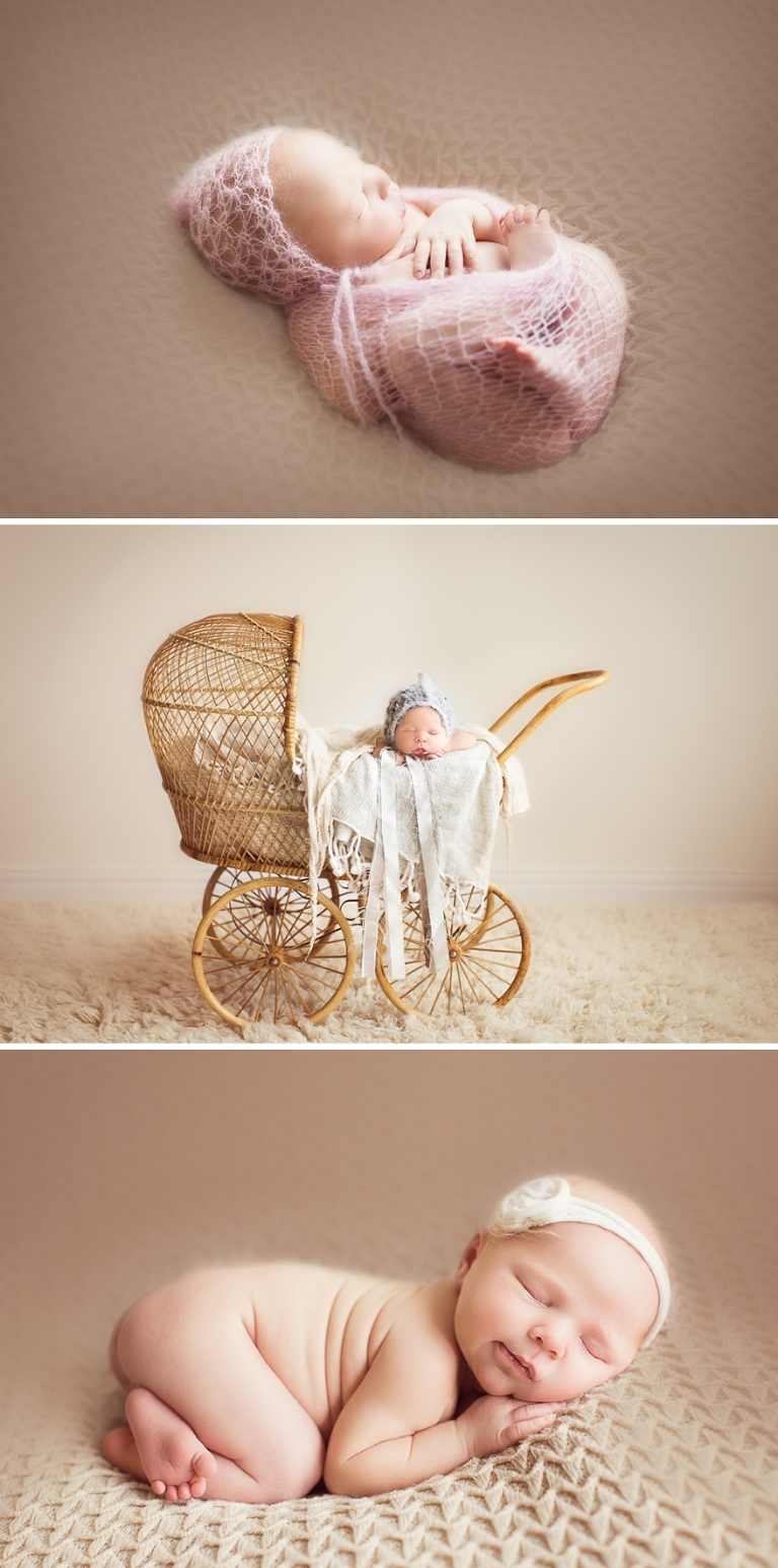 custom newborn portraits in dallas fort worth