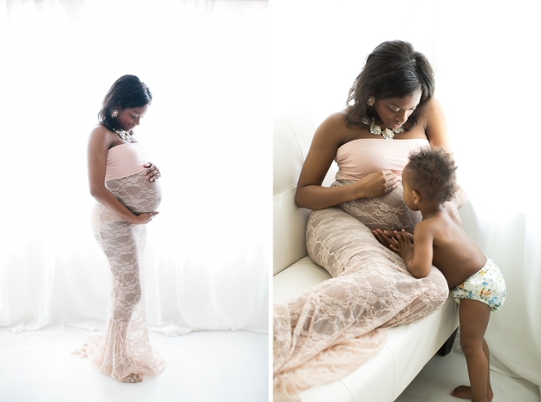 maternity portrait studio in dallas, fort worth