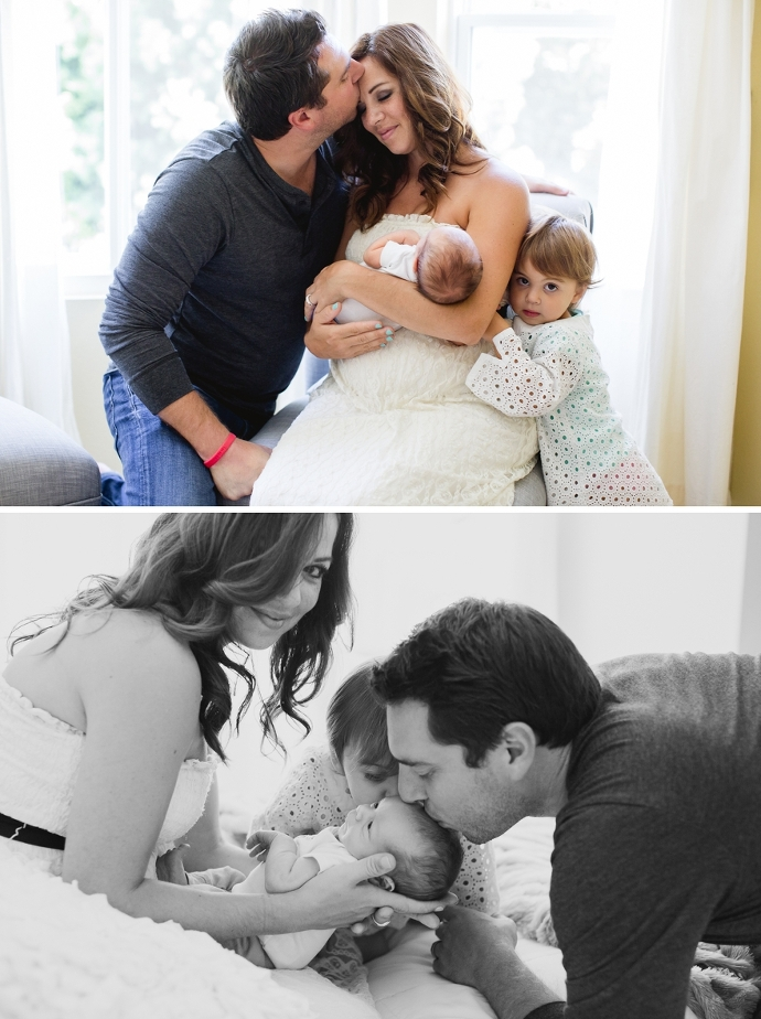 lifestyle newborn session in fort worth