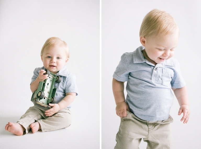 one year baby session in fort worth