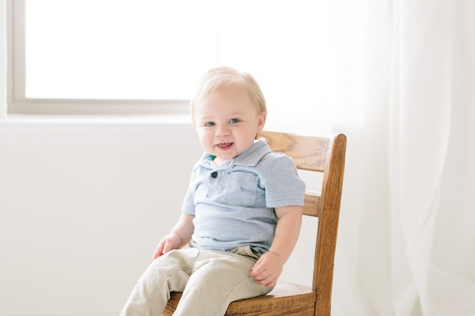 one year baby pictures in roanoke tx