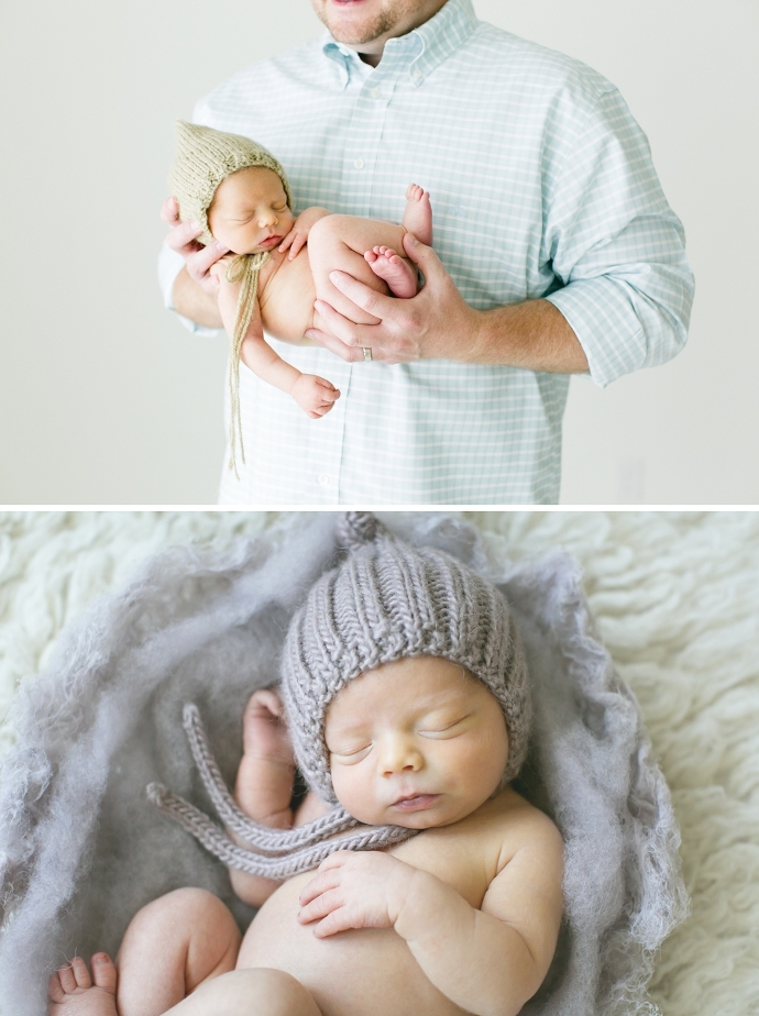newborn photography in dew