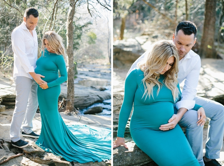 maternity photography outdoors in texas